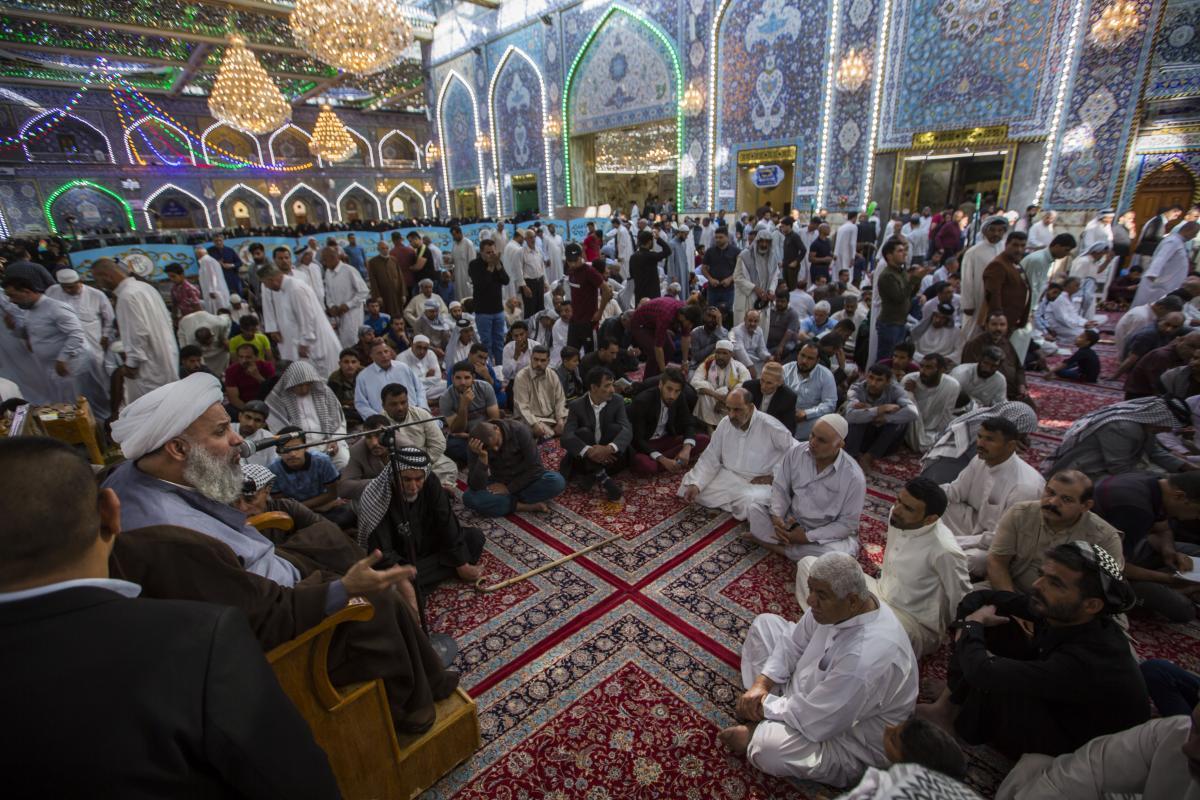 آستان مقدس عباسی مراسم سخنرانی و بیان احکام برگزار کرد