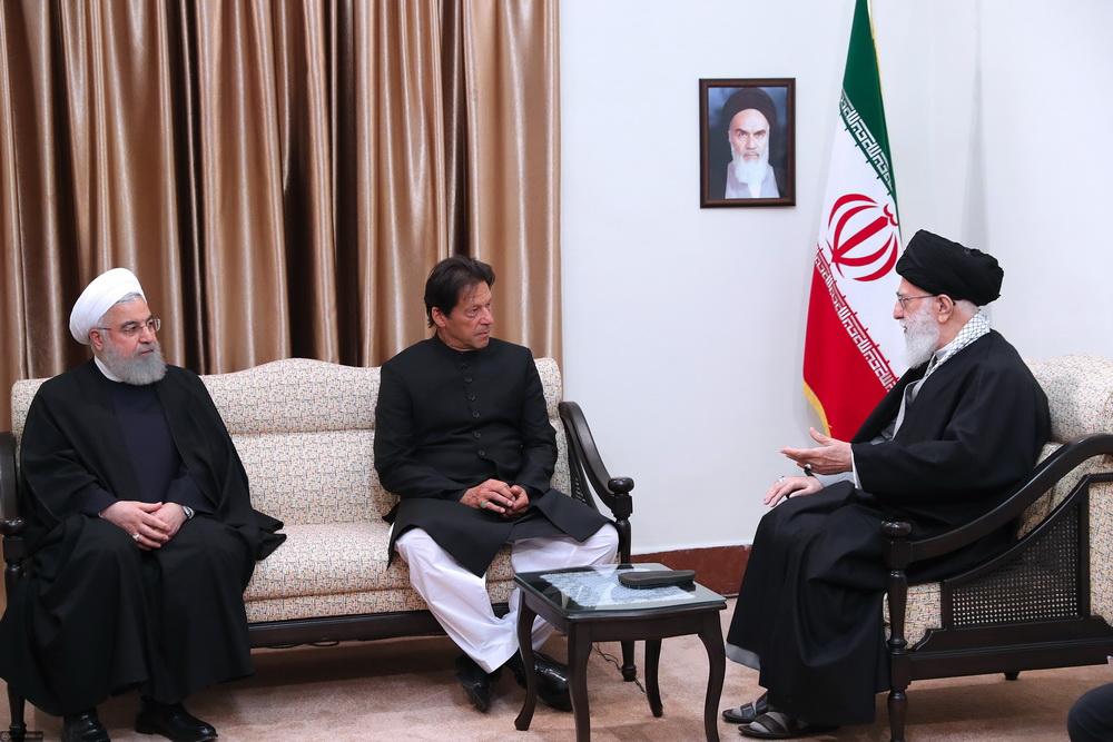 دیدار نخست وزیر پاکستان با رهبری