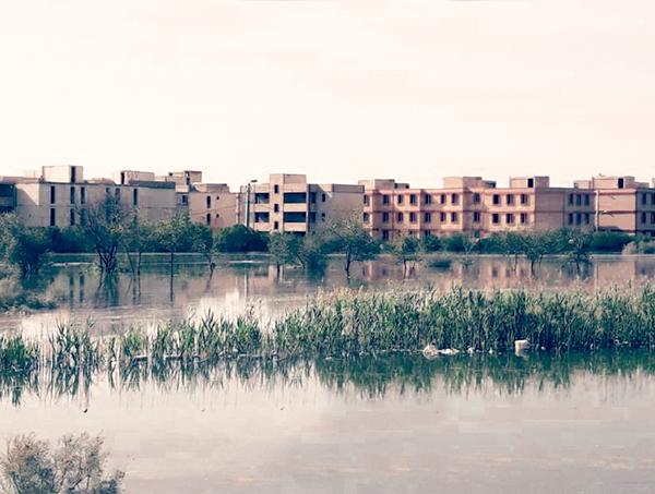 گزارشی از وضعیت شهرک سیلزده «شیرینشهر»