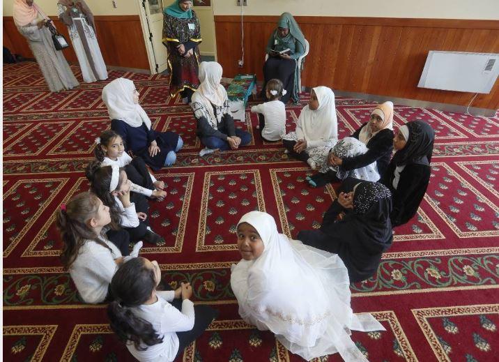 مسجد کیلبیرنی در نیوزیلند مراسم روز درهای باز برگزار کرد + تصاویر
