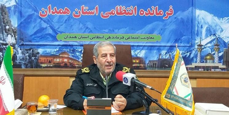 سردار بخشعلی کامرانیصالح فرمانده انتظامی همدان