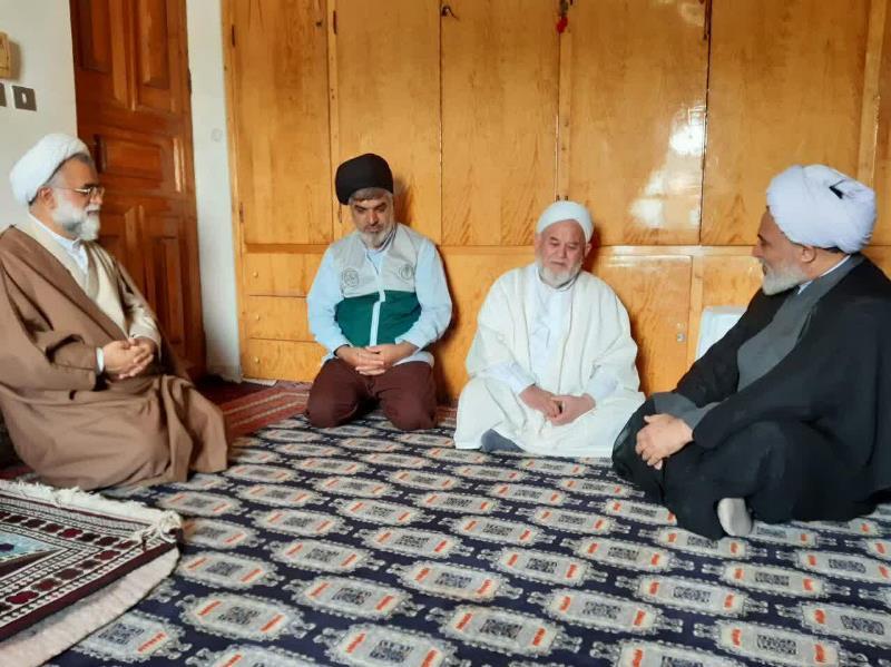 بازدید مدیر حوزه علمیه خواهران کشور از شهرستان سیل زده آق قلا