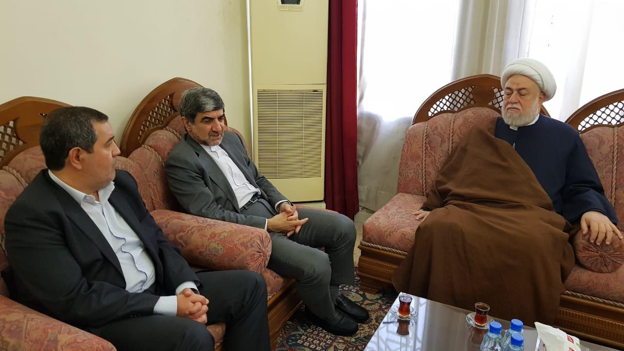 محمد جلال فیروزنیا سفیر ایران در لبنان