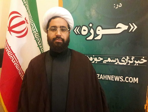 حجت الاسلام رضا کمندانی معاونت تهذیب مدرسه علمیه امام خمینی(ره)کرمانشاه