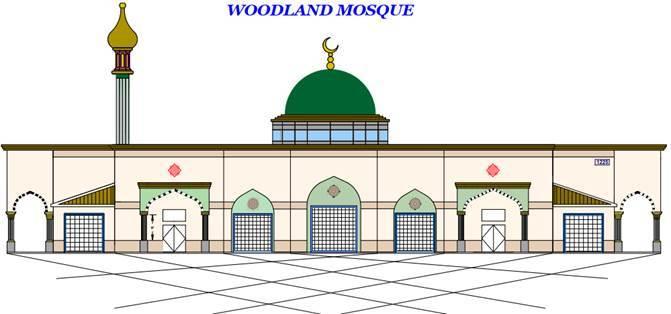 مسجد و مرکز اسلامی جدید در وودلند، کالیفرنیا کلنگ خورد + تصاویر