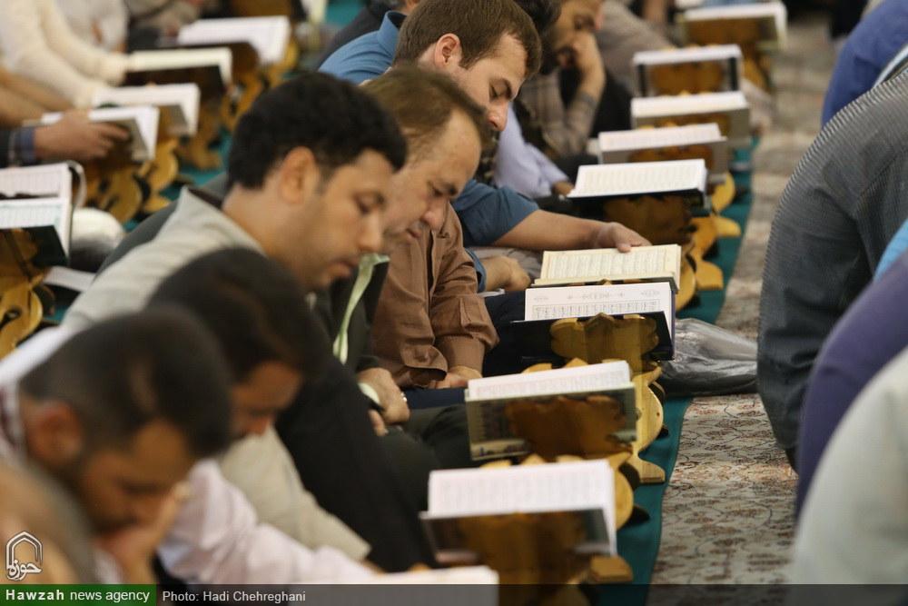 جزءخوانی قرآن کریم در پنجمین روز  از ماه مبارک رمضان در حرم کریمه اهل بیت(ع)