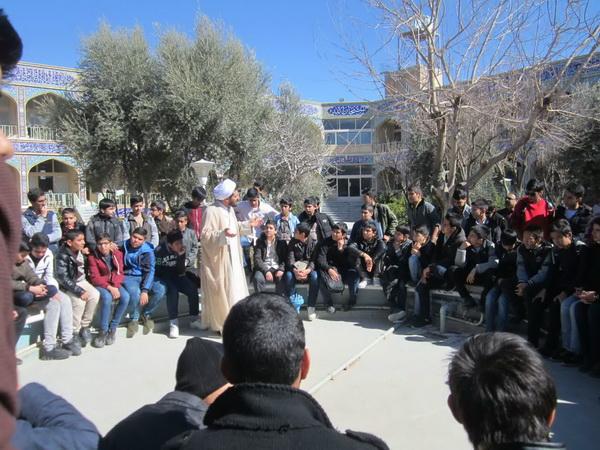 جشن تکلیف دانش آموزان در نجف آباد