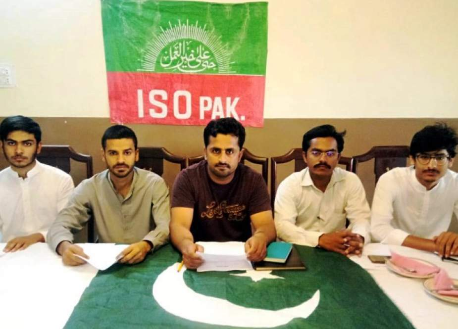 رئیس سازمان دانشجویان امامیه مولتان پاکستان