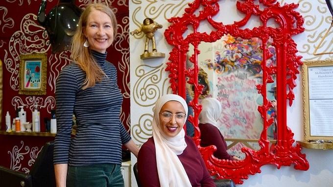 آرایشگر استرالیایی، فضای امنی برای زنان مسلمان در ملبورن ایجاد کرد