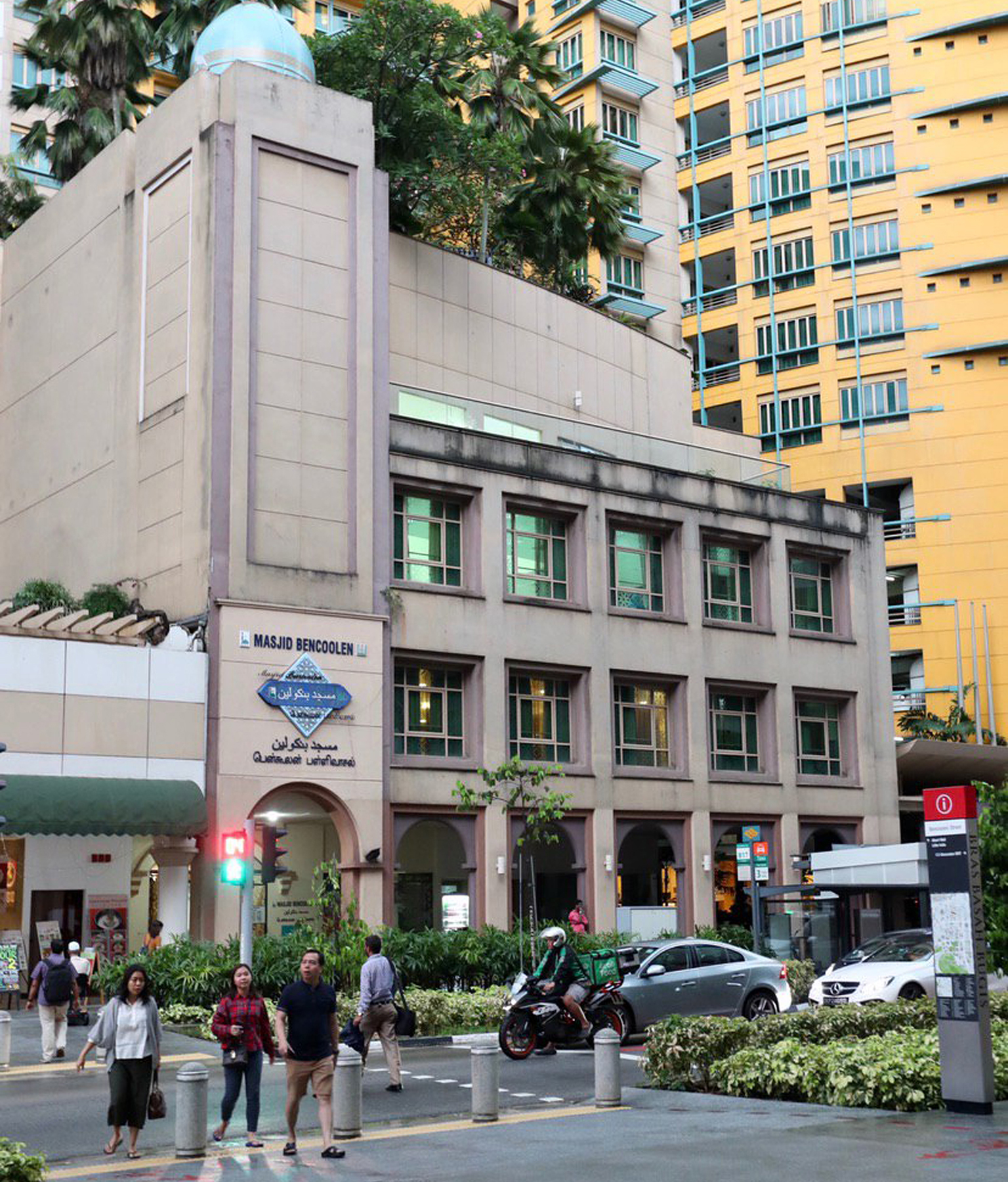 ۴ میلیون هزینه مرمت و بازسازی مسجد ۱۹۴ ساله در سنگاپور