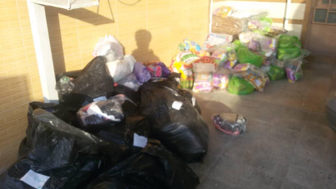 توزیع ۶۰۰ بسته غذایی و بهداشتی بین سیل زدگان ماژین