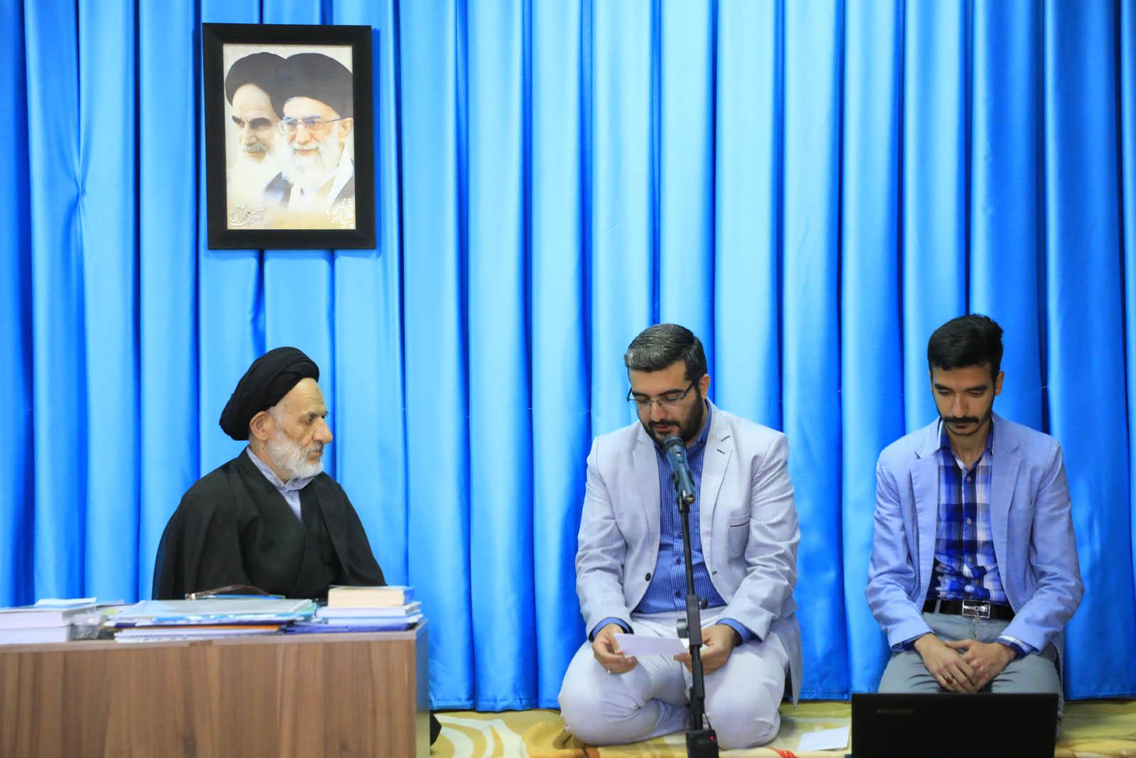 دیدار مسئول دفتر سازمان فضای مجازی سراج با امام جمعه بیرجند