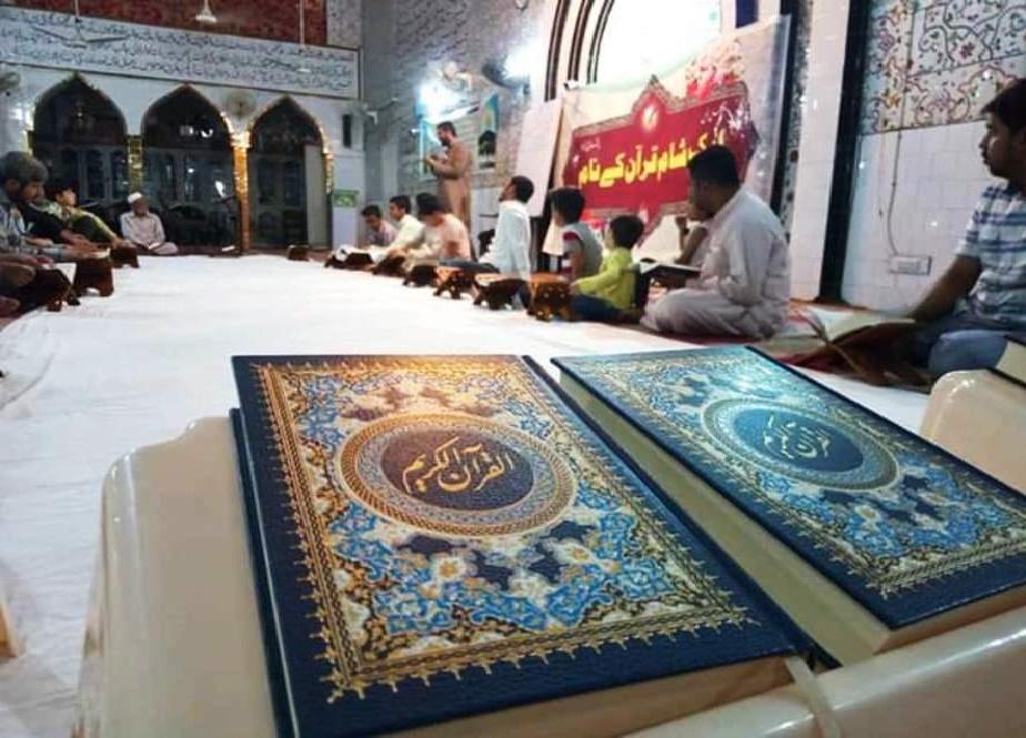 مراسم «شبی با قرآن» در لاهور برگزار شد+ تصاویر