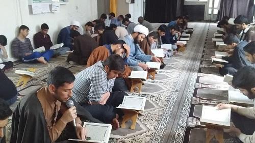 تصاویر/ محفل اُنس با قرآن در مدرسه علمیه امام خمینی(ره) سنقر و کلیایی