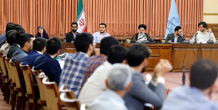 رئیس قوه قضاییه در دیدار نمایندگان تشکلهای دانشجویی