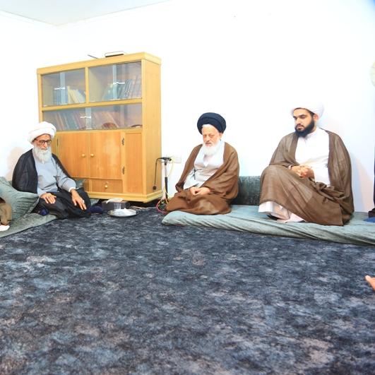 آیت الله سید مجتبی حسینی نماینده امام خامنه ای در عراق