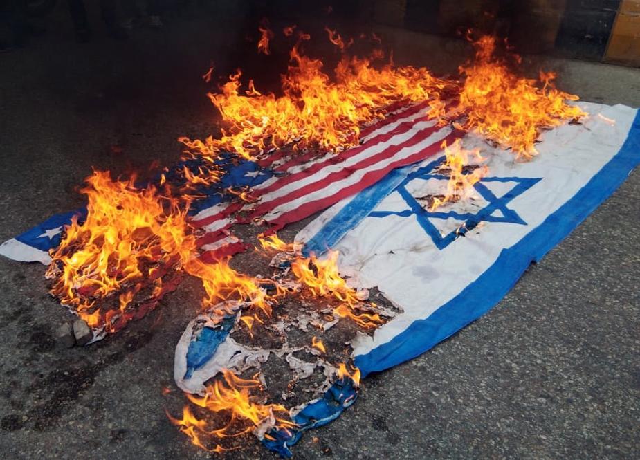 پاکستان یکپارچه فریاد «مرگ برآمریکا» و «مرگ بر اسرائیل» شد