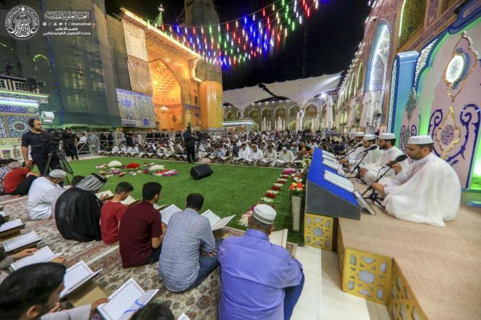 شب های ماه رمضان حرم امیرالمومنین (ع)