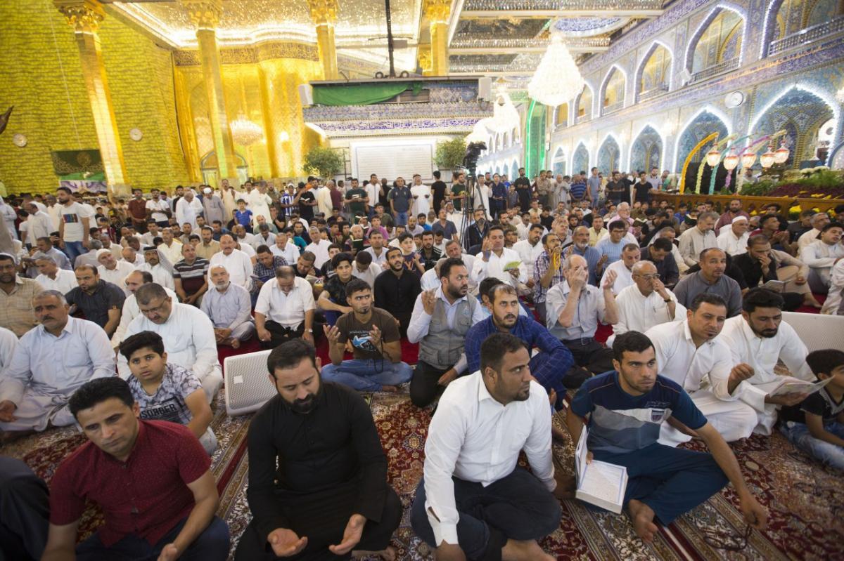 حال و هوای حرم حضرت عباس(ع) در ایام ماه مبارک رمضان