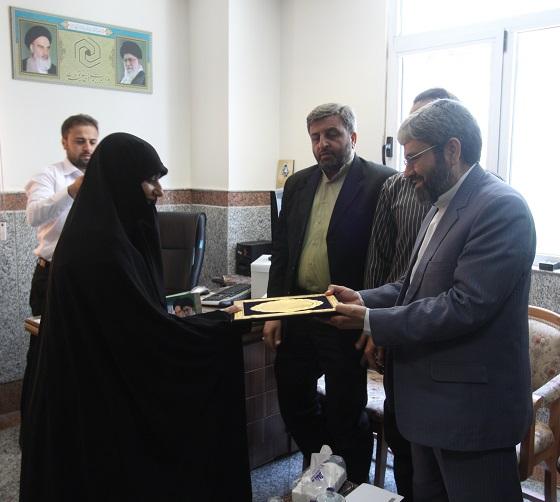 مراسم معرفی سرپرست ادارهکل روابط عمومی حوزههای علمیه خواهران