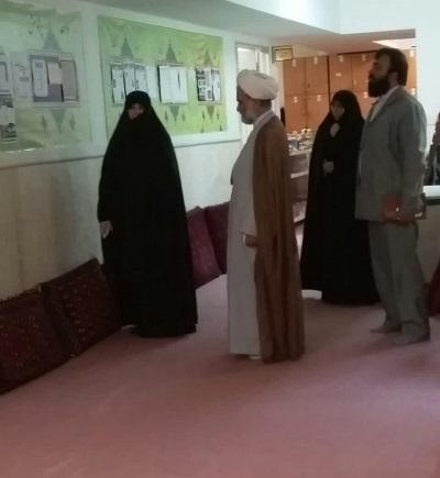 بازدید حجت الاسلام کبیریان از مدرسه علمیه کریمه اهل بیت(ع)