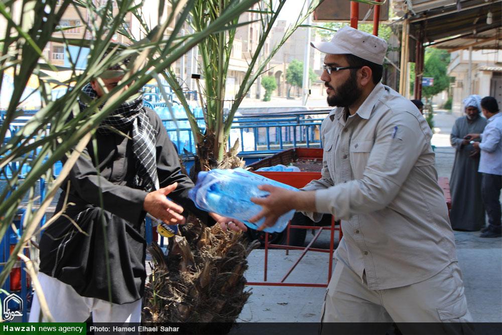 توزیع ۱۰هزار بسته ارزاق در مناطق سیل زده خوزستان