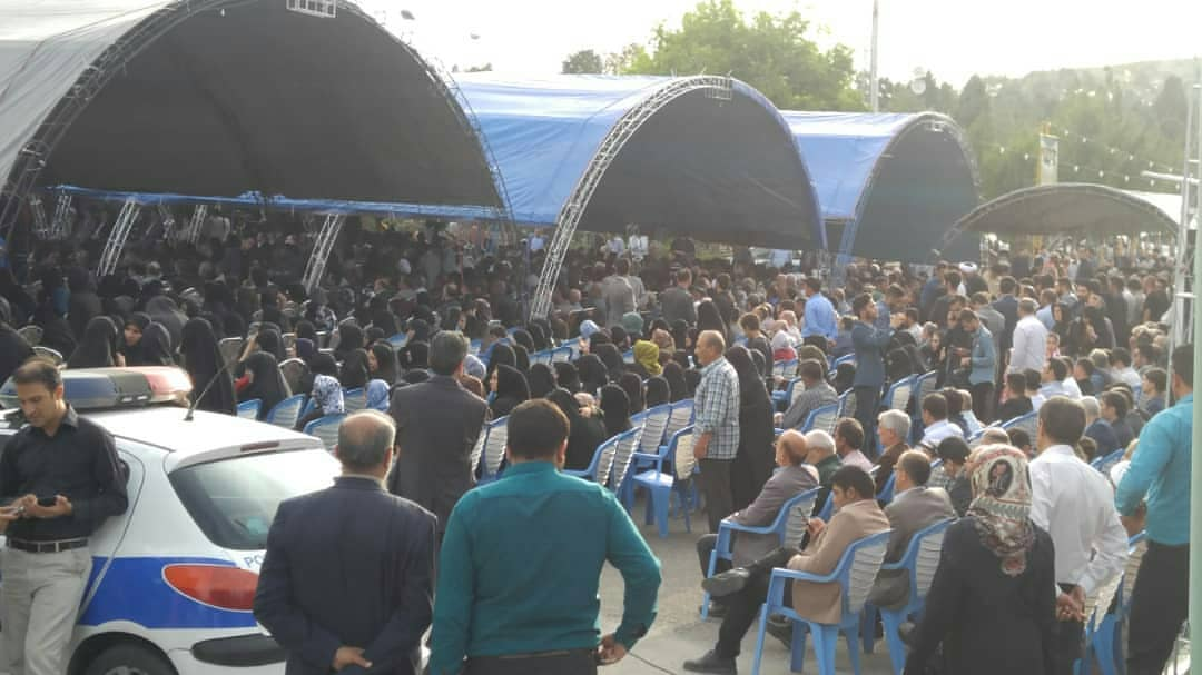 مراسم اولین سالگرد ارتحال مرحوم حسنی
