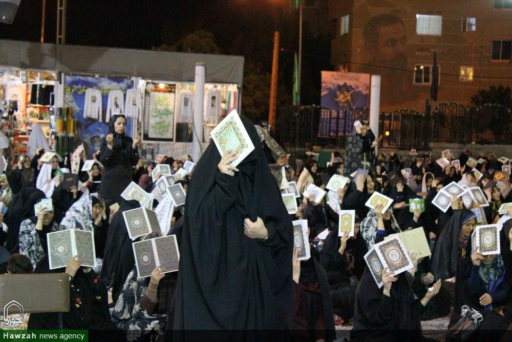 مراسم احیاء شب نوزدهم ماه رمضان در همدان