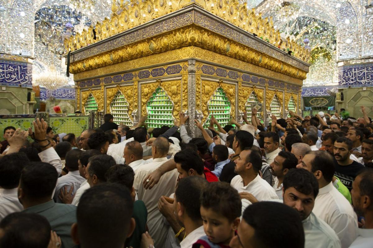 مراسم اولین شب احیا در حرم حضرت ابا الفضل العباس (ع) برگزار شد