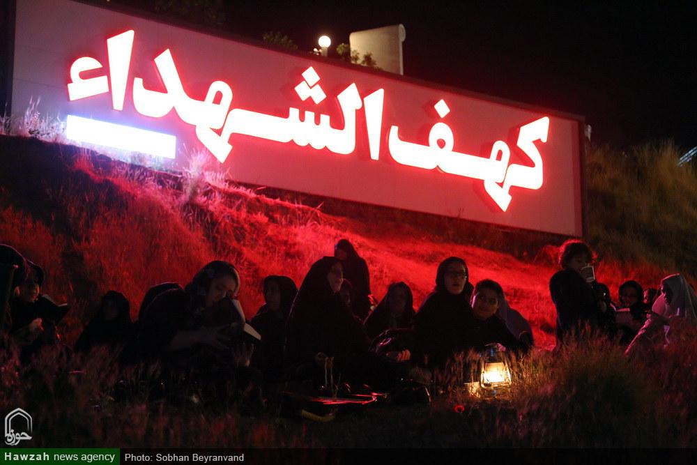 مراسم احیاء شب بیست و یکم ماه مبارک رمضان در کهف الشهداء تهران