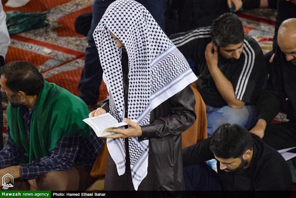 مراسم احیاء شب بیست و سوم ماه رمضان در مصلی امام خمینی(ره) اهواز