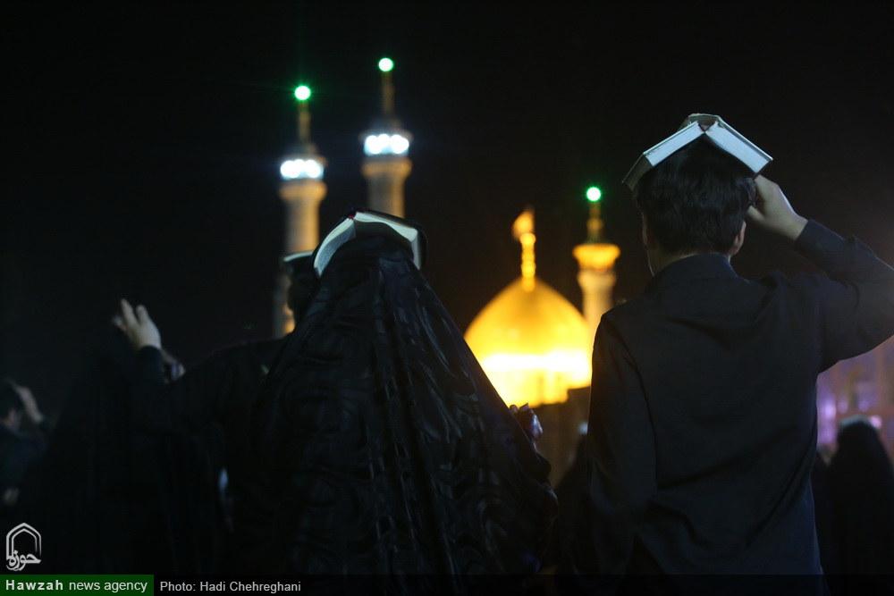 احیاء شب بیست و سوم ماه مبارک رمضان در حرم حضرت معصومه(س)