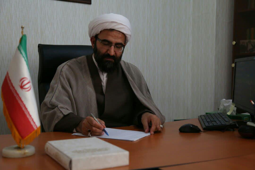 حجت الاسلام والمسلمین رحیمی صادق مدیر حوزه علمیه تهران