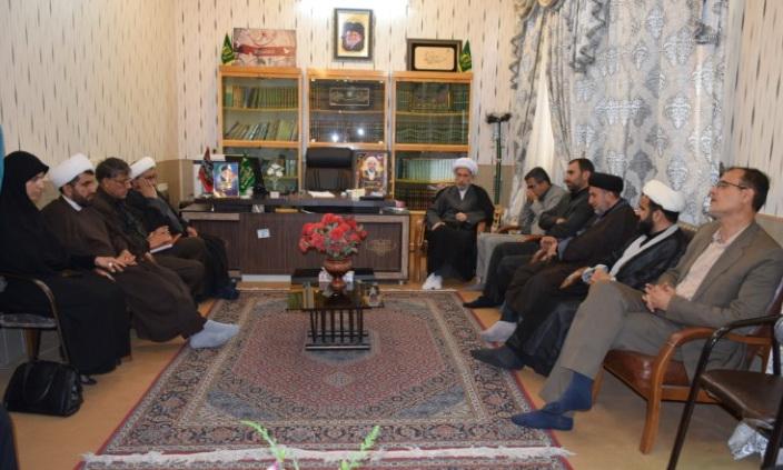 تشکیل جلسه شورای تامین شهرستان کازرون در دفتر امام جمعه