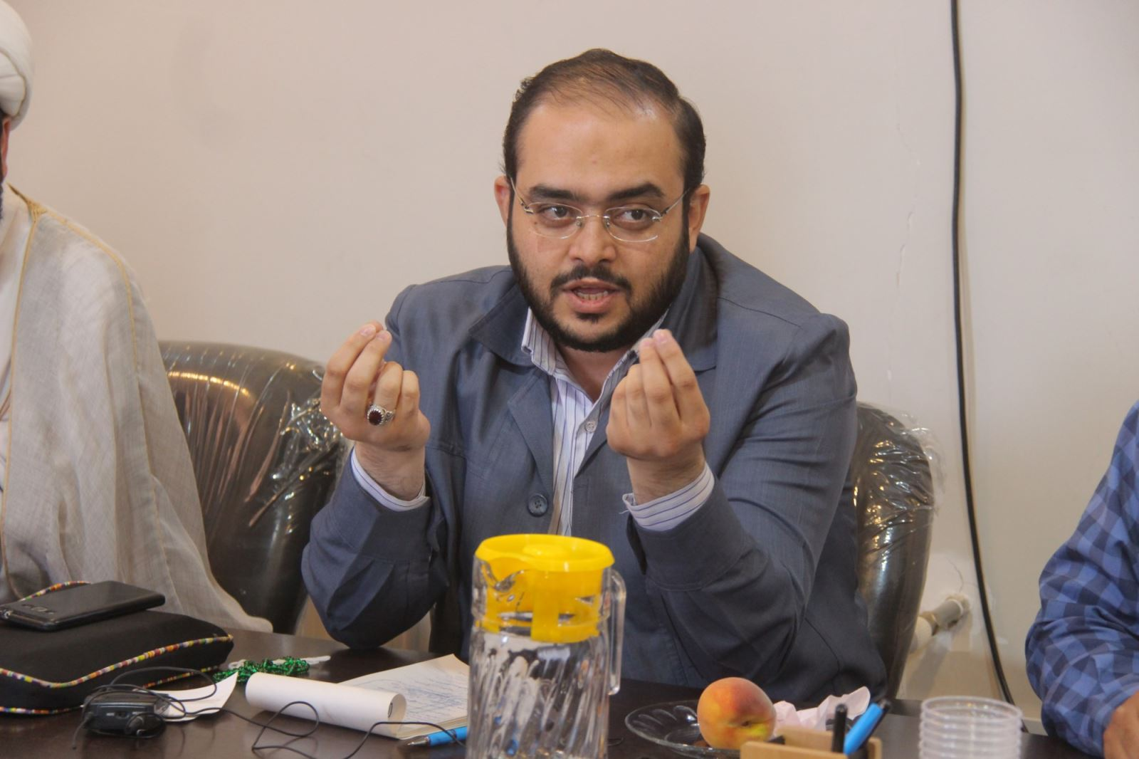 عباسعلی متولیان دبیر انجمن سواد رسانه طلاب