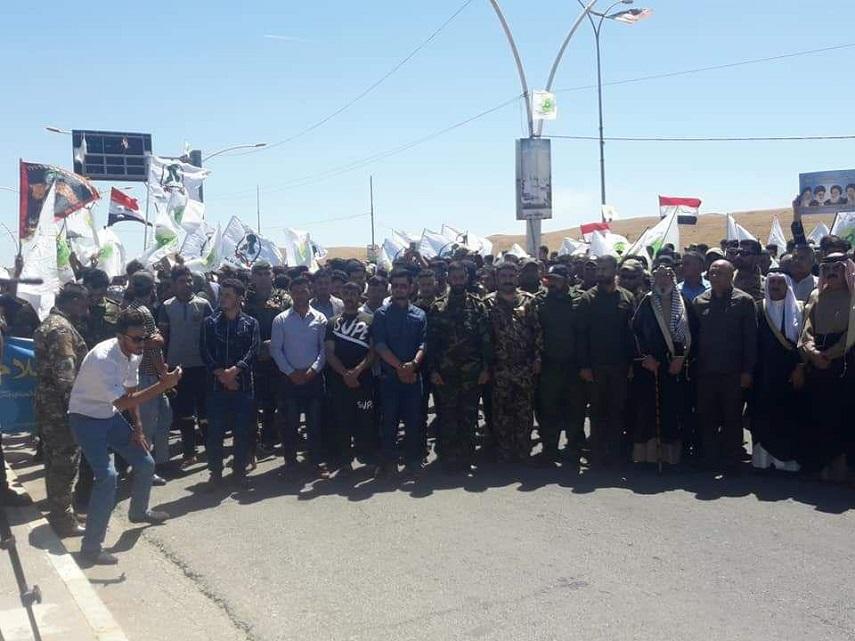 راهپیمایی مردم موصل عراق در روز جهانی قدس