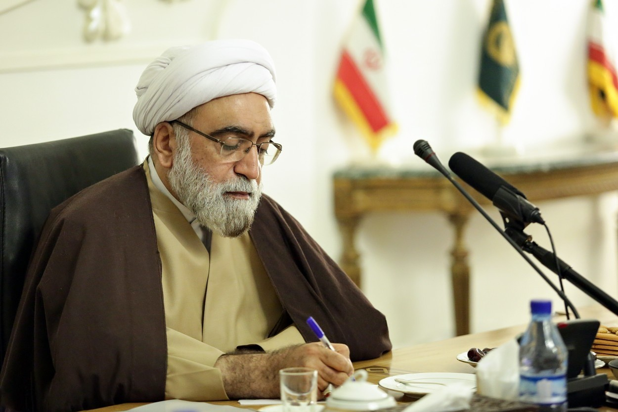 پیام احمد مروی تولیت آستان قدس رضوی