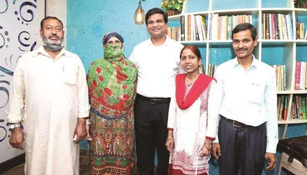 تعویض کلیه دو خانواده هندو و مسلمان خبرساز شد
