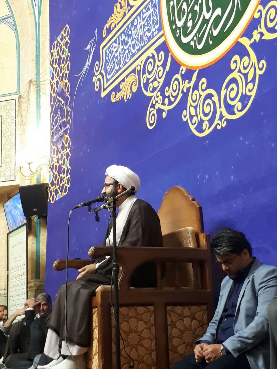 دیدار رمضانی مدیر حوزه علمیه تهران با طلاب تهرانی