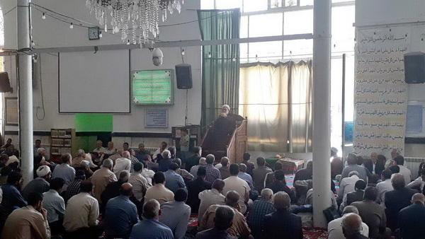 حجت الاسلام و المسلمین حمید ملکی در مسجد جامع همدان