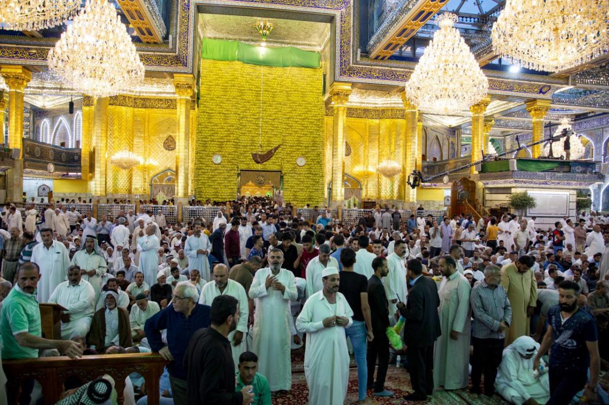 حال و هوای حرم حضرت اباالفضل العباس(ع) در آخرین روز های ماه رمضان