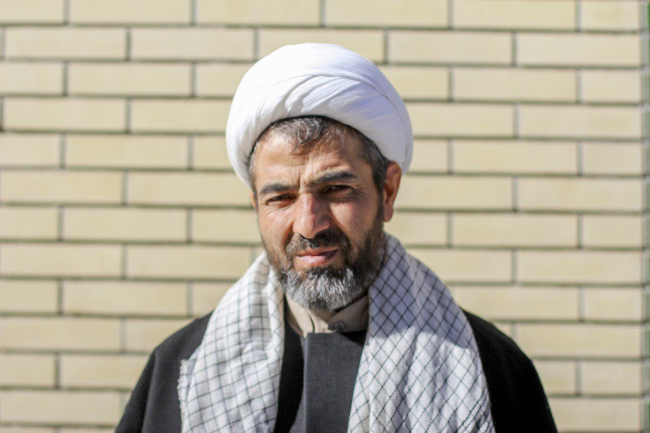 حجت الاسلام دلدار مدیر مدرسه علمیه امام حسن