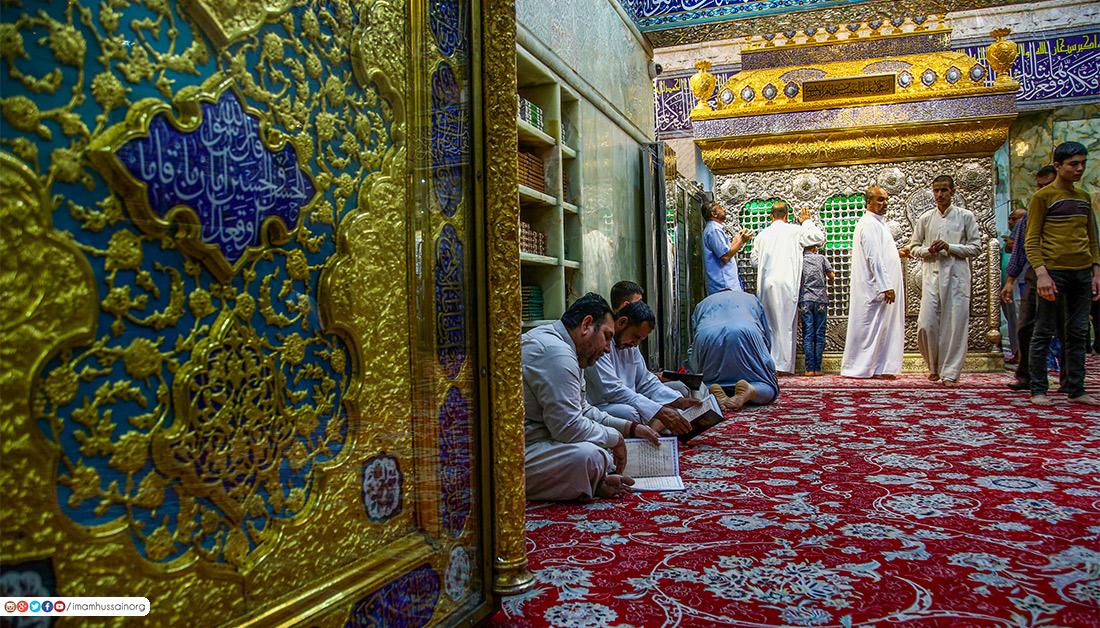 حال و هوای حرم امام حسین (ع) آخرین روز های ماه رمضان