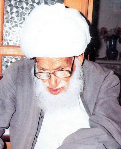 آیت الله حاج شیخ عباس علی ادیب حبیبآبادی