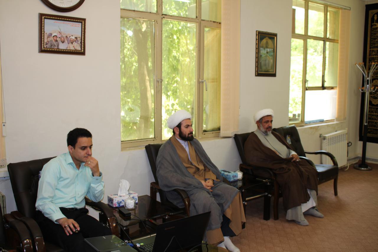 تصاویر/ حضور معاون منابع انسانی و پشتیبانی حوزه های علمیه در ایلام