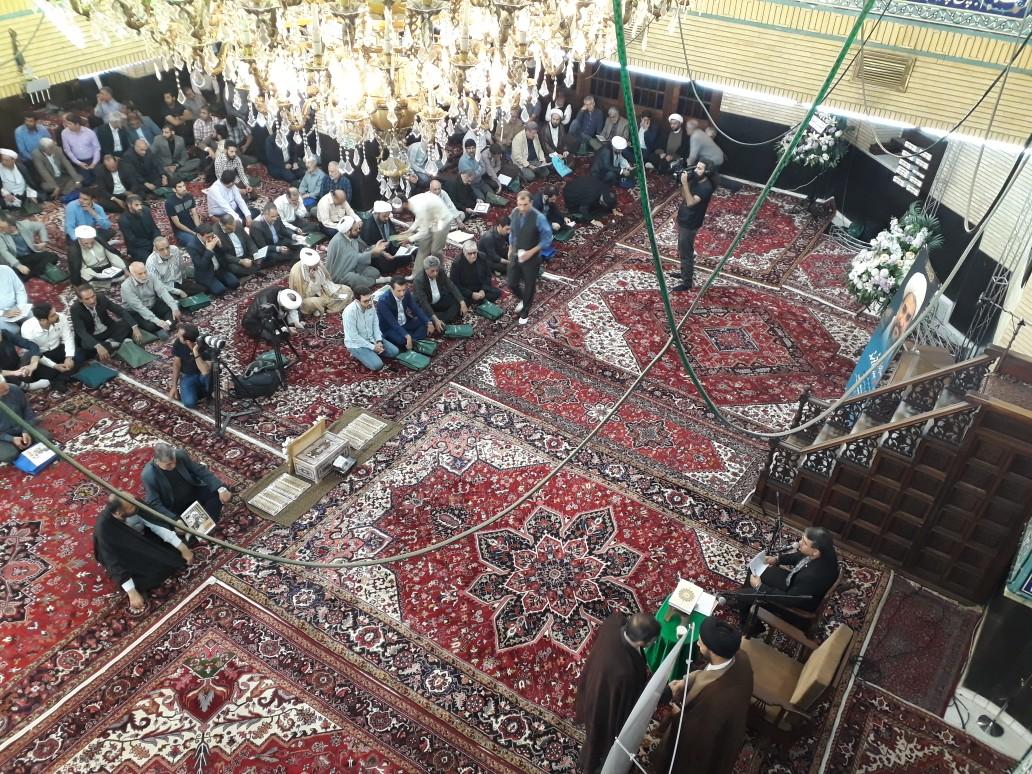 آیین بزرگداشت دو روحانی شهید در تهران برگزار شد