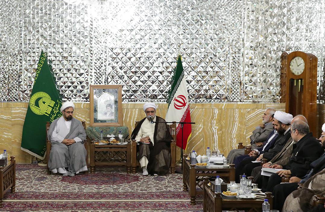 احمد مروی در دیدار اعضای ستاد گرامیداشت دهه کرامت
