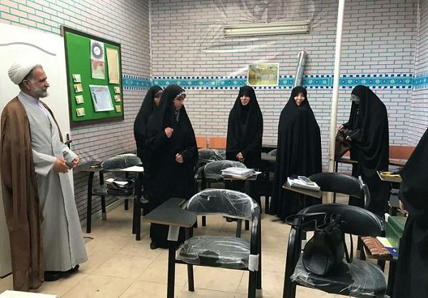 حجت الاسلام کبیریان در  حوزه صالحیه تهران