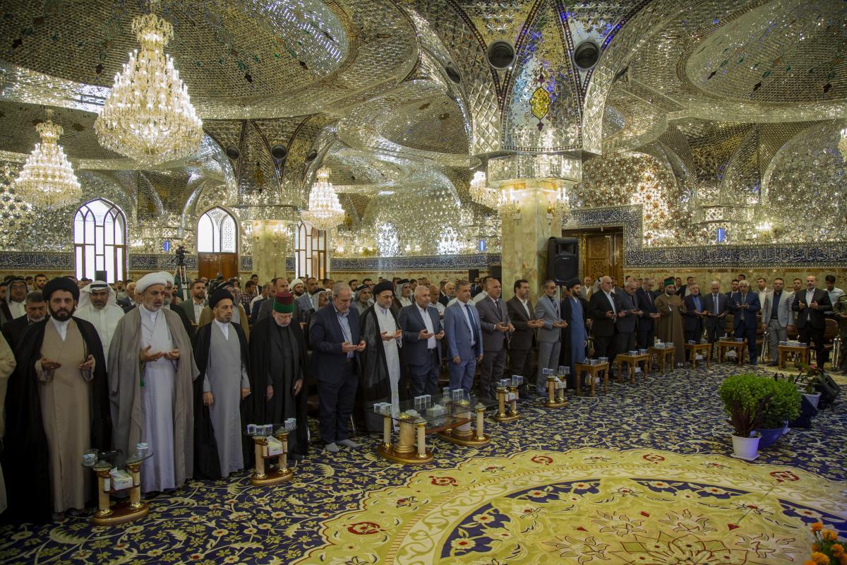 """نهمین جشنواره فرهنگی """"سفیر"""" در مسجد کوفه برگزار شد"""