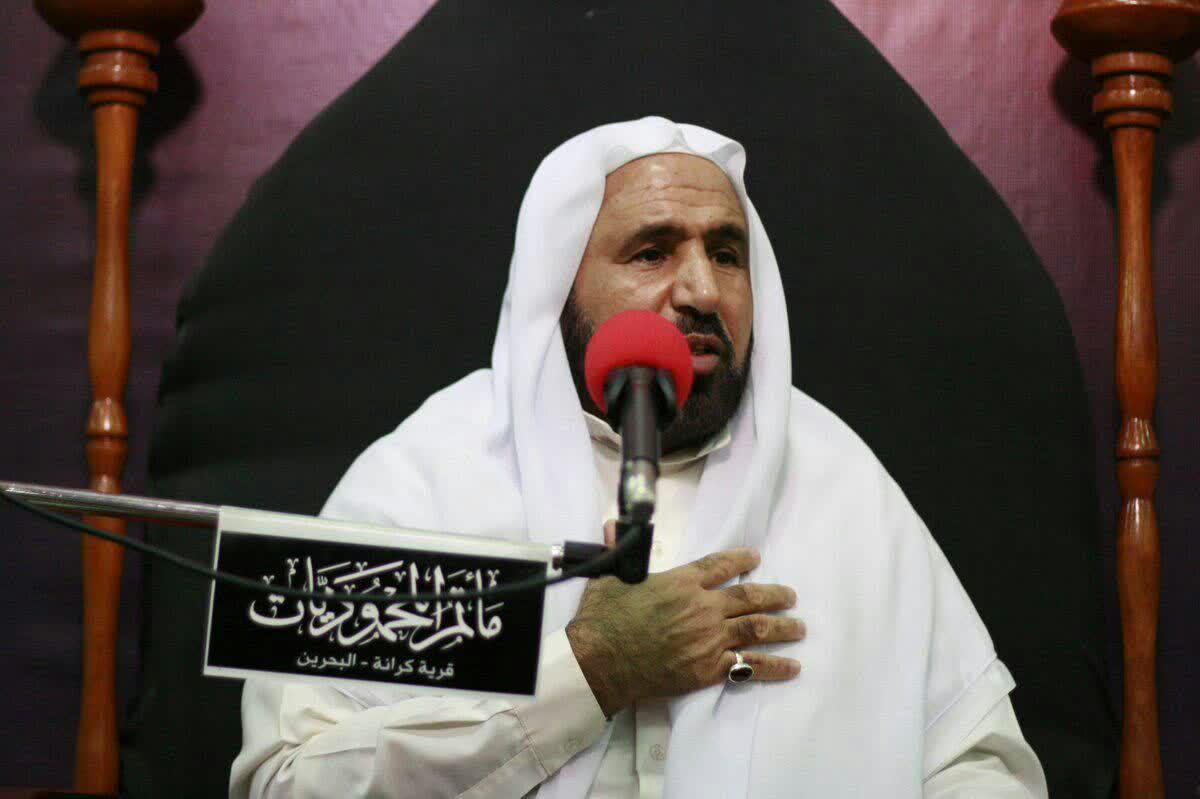 ملا عباس الجزیری از خطبای بحرین